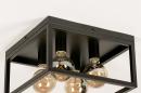 Plafondlamp 74288: industrie, look, landelijk, rustiek #8
