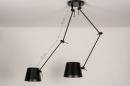 Hanglamp 74291: industrie, look, modern, stoer #1