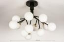 Plafondlamp 74294: design, landelijk, rustiek, modern #1
