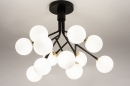 Plafondlamp 74294: design, landelijk, rustiek, modern #3