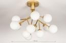 Plafondlamp 74295: design, landelijk, rustiek, modern #1