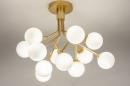 Plafondlamp 74295: design, landelijk, rustiek, modern #2