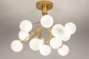 Plafondlamp 74295: design, landelijk, rustiek, modern #3