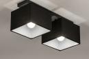 Plafondlamp 74300: landelijk, rustiek, modern, eigentijds klassiek #2