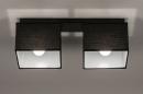 Plafondlamp 74300: landelijk, rustiek, modern, eigentijds klassiek #3