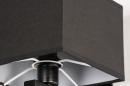 Wandlamp 74301: modern, eigentijds klassiek, stof, metaal #8