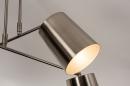 Plafondlamp 74302: modern, metaal, nikkel #10
