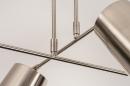 Plafondlamp 74302: modern, metaal, nikkel #11