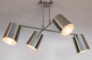 Plafondlamp 74302: modern, metaal, nikkel #2