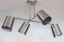 Plafondlamp 74302: modern, metaal, nikkel #5