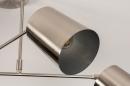 Plafondlamp 74302: modern, metaal, nikkel #9
