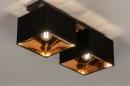 Plafondlamp 74304: landelijk, rustiek, modern, eigentijds klassiek #2