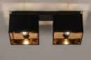 Plafondlamp 74304: landelijk, rustiek, modern, eigentijds klassiek #3