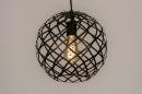 Hanglamp 74309: industrie, look, landelijk, rustiek #4