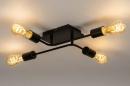 Plafondlamp 74319: industrie, look, modern, art deco #13