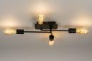 Plafondlamp 74319: industrie, look, modern, art deco #14