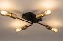 Deckenleuchte 74320: Industrielook, laendlich rustikal, modern, coole Lampen grob #3