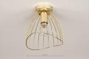Plafondlamp 74327: modern, retro, eigentijds klassiek, art deco #1