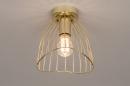 Plafondlamp 74327: modern, retro, eigentijds klassiek, art deco #3
