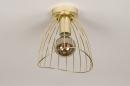 Plafondlamp 74327: modern, retro, eigentijds klassiek, art deco #5