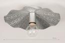 Plafondlamp 74331: landelijk, rustiek, eigentijds klassiek, metaal #1