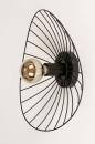 Plafondlamp 74333: modern, retro, metaal, zwart #10