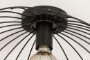 Plafondlamp 74333: modern, retro, metaal, zwart #8