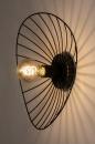 Plafondlamp 74333: modern, retro, metaal, zwart #9