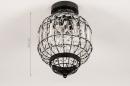 Plafondlamp 74334: landelijk, rustiek, klassiek, eigentijds klassiek #1