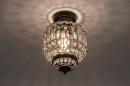 Plafondlamp 74334: landelijk, rustiek, klassiek, eigentijds klassiek #2
