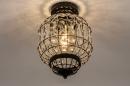 Plafondlamp 74334: landelijk, rustiek, klassiek, eigentijds klassiek #3