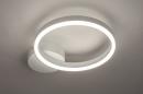 Plafondlamp 74337: design, modern, metaal, wit #2