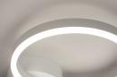 Plafondlamp 74337: design, modern, metaal, wit #7