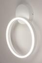 Plafondlamp 74337: design, modern, metaal, wit #9