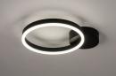 Plafondlamp 74338: design, modern, metaal, zwart #2