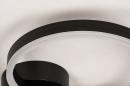 Plafondlamp 74338: design, modern, metaal, zwart #6