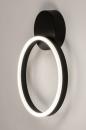 Plafondlamp 74338: design, modern, metaal, zwart #9