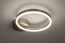 Plafondlamp 74339: design, modern, staal rvs, kunststof #2