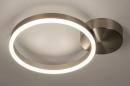 Plafondlamp 74339: design, modern, staal rvs, kunststof #3