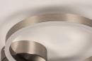 Plafondlamp 74339: design, modern, staal rvs, kunststof #6