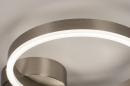 Plafondlamp 74339: design, modern, staal rvs, kunststof #7