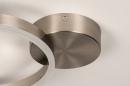 Plafondlamp 74339: design, modern, staal rvs, kunststof #8