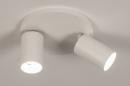 Plafondlamp 74342: design, modern, aluminium, metaal #2