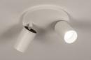 Plafondlamp 74342: design, modern, aluminium, metaal #3