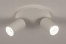 Plafondlamp 74342: design, modern, aluminium, metaal #4