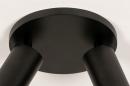 Plafondlamp 74344: modern, eigentijds klassiek, aluminium, metaal #10