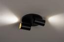 Plafondlamp 74344: modern, eigentijds klassiek, aluminium, metaal #4