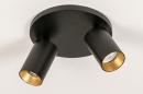 Plafondlamp 74344: modern, eigentijds klassiek, aluminium, metaal #5