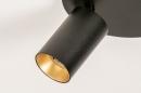 Plafondlamp 74344: modern, eigentijds klassiek, aluminium, metaal #7