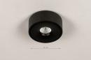Spot 74345: design, modern, metaal, zwart #1